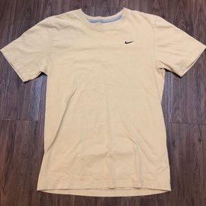 Nike embroidered check shirt